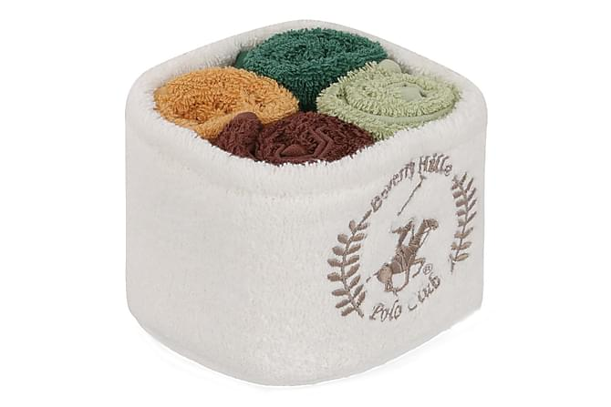 Beverly Hills Polo Club Handduk 30x30 cm 4-pack - Multi - Heminredning - Textilier - Badrumstextilier