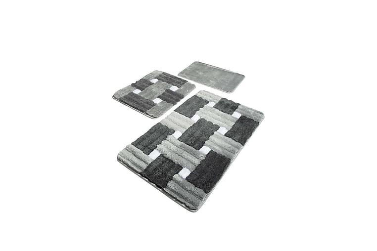Chilai Home Badmatta Set om 3 - Multi - Heminredning - Textilier - Textilier badrum