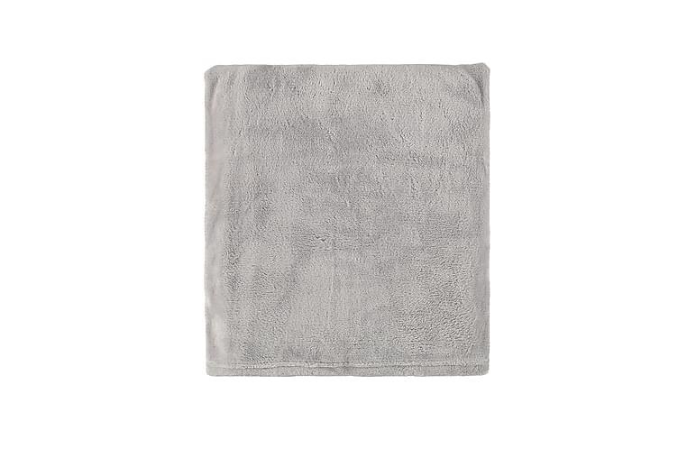 Irma Pläd - Ljusgrå - Heminredning - Textilier - Filtar & plädar