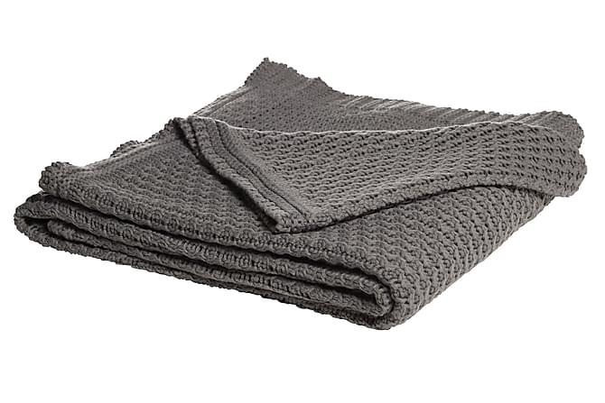 Johnath Pläd 170x130 cm - Grå - Heminredning - Textilier - Filtar & plädar