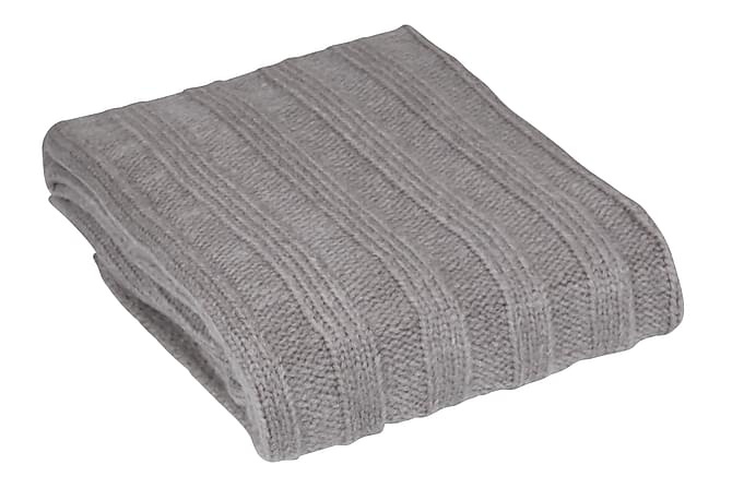 Skyler Pläd 120x150 cm - Grå - Heminredning - Textilier - Filtar & plädar
