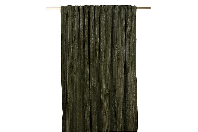 Ellum Gardinlängd Multibandslängd 2-pack 140x280 cm - Grön - Heminredning - Textilier - Gardiner
