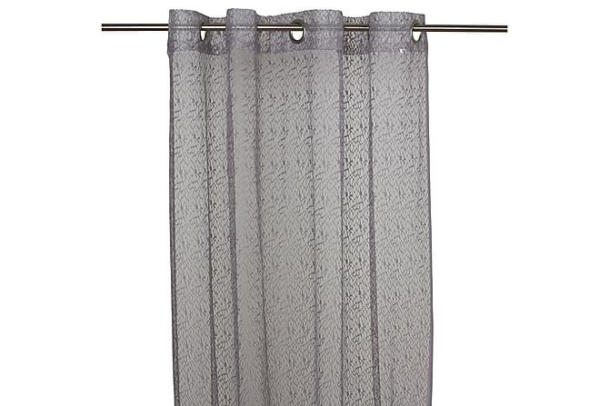 Heimdal Öljettlängd 2-pack 240 cm - Grå - Heminredning - Textilier - Gardiner
