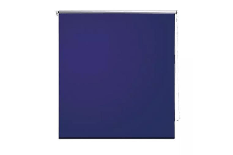 Rullgardin marinblå 80x230 cm mörkläggande - Blå - Heminredning - Textilier - Gardiner
