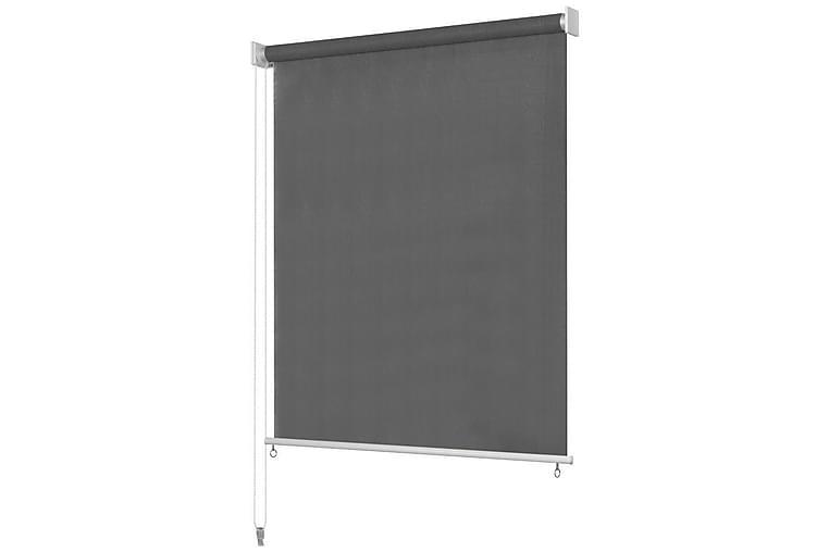 Rullgardin utomhus 200x140 cm antracit - Antracit - Heminredning - Textilier - Gardiner