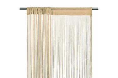 Alaba Trådgardin 2-pack 100x250 cm