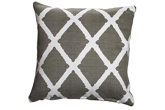 Parvan Kuddfodral 45x45 cm - Grå - Heminredning - Textilier - Kuddfodral