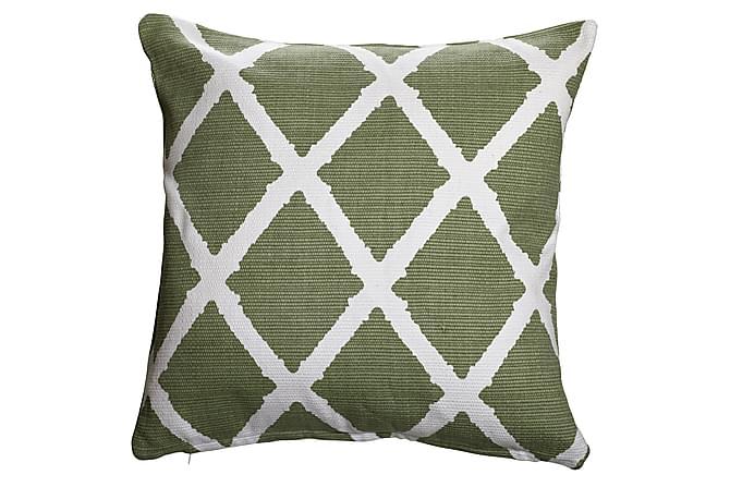 Parvan Kuddfodral 45x45 cm - Grön - Heminredning - Textilier - Kuddfodral