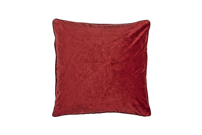 Sameta Kuddfodral 45x45 cm Sammet - Röd - Heminredning - Textilier - Kuddfodral