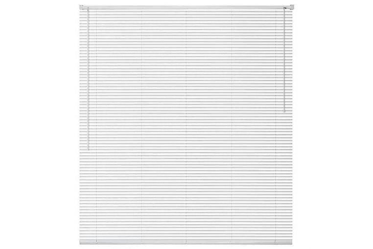 Persienner aluminium 100x130 cm vit - Vit - Heminredning - Textilier - Persienner