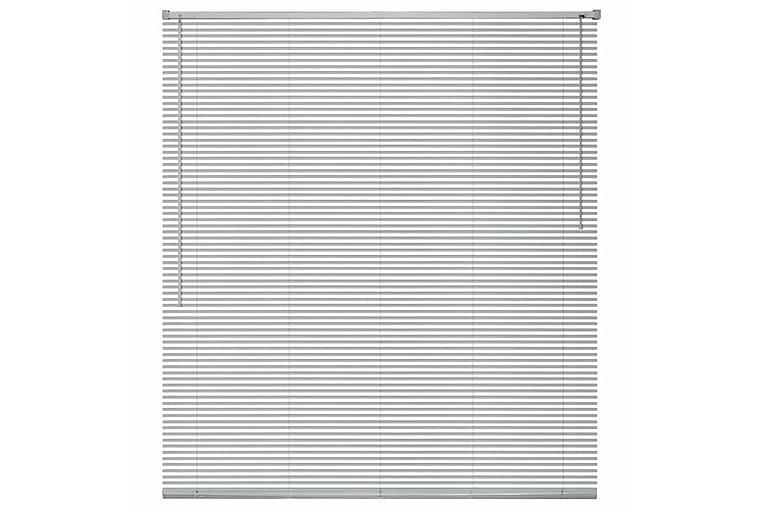 Persienner aluminium 160x220 cm silver - Silver - Heminredning - Textilier - Persienner