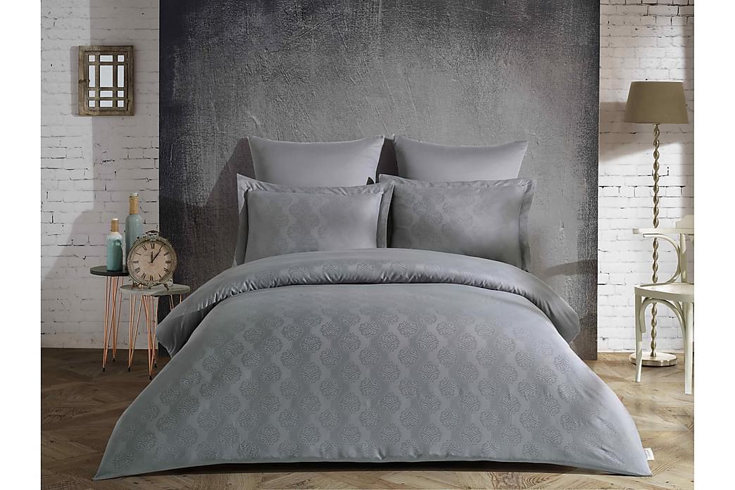 Şaheser Satin Bäddset - Grå - Heminredning - Textilier - Sängkläder