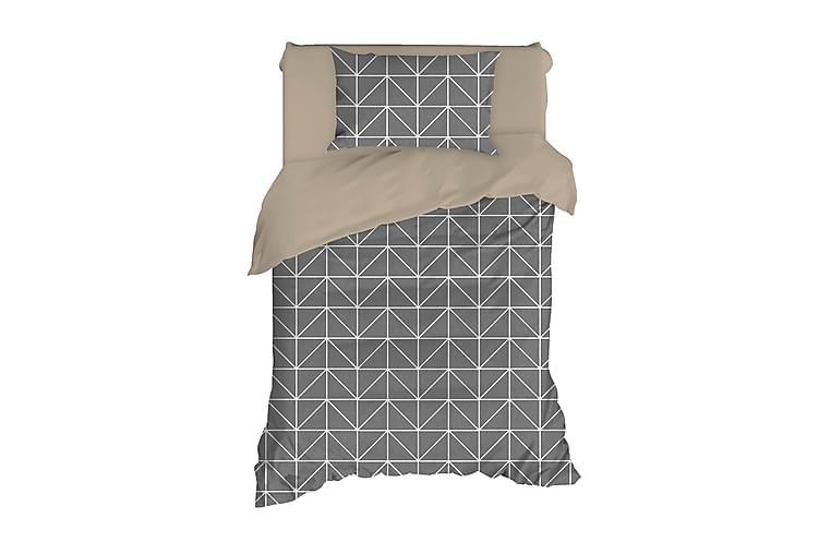 EnLora Home Ranforce Bäddset - Antracit - Heminredning - Textilier - Sängkläder