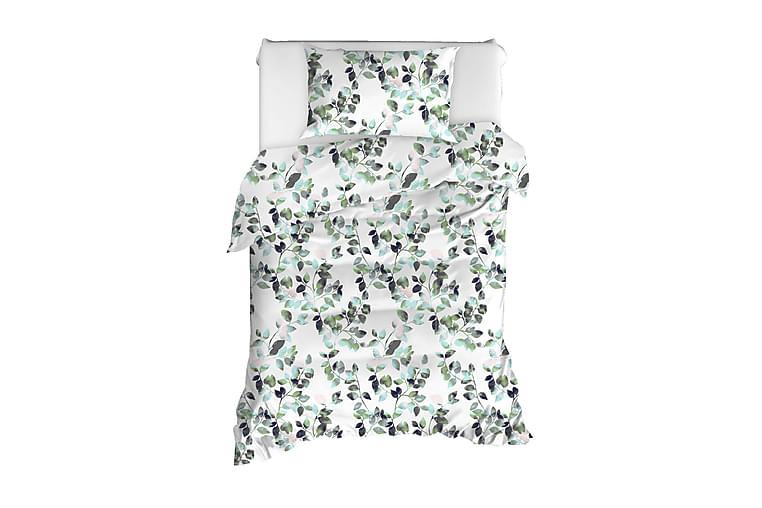 EnLora Home Ranforce Bäddset - Grön - Heminredning - Textilier - Sängkläder