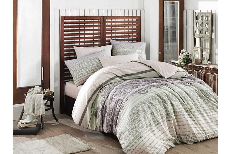 Hobby Bäddset Enkelt 3-dels Ranforce - Grön/Vit/Lila/Rosa - Heminredning - Textilier - Sängkläder