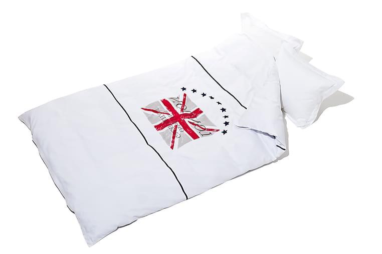 Lord Nelson Victory Bäddset Percale - 210x150cm Vit - Heminredning - Textilier - Sängkläder