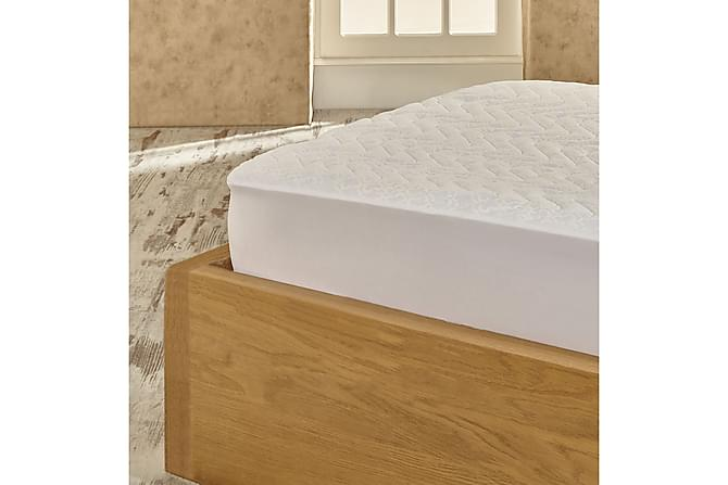 Marie Claire Madrasskydd Dubbelt 160x200 cm - Vit - Heminredning - Textilier - Sängkläder