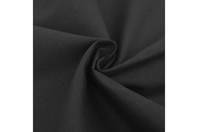 Påslakan 200x200/80x80 cm bomull - Mörkgrå - Heminredning - Textilier - Sängkläder