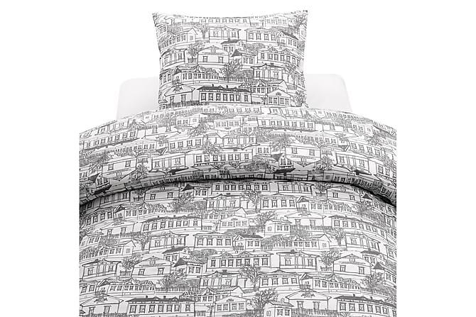 Stad Bäddset 2-dels 150x210 cm Grå - Borganäs - Heminredning - Textilier - Sängkläder