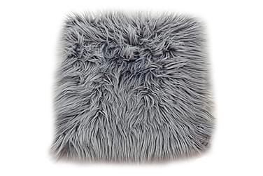 Dyna Stol Fluff Acryl Grå 35x35 cm