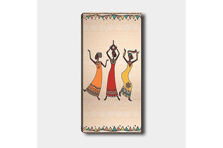 Canvastavla DKY World Cultures Flerfärgad - 50x120 cm - Heminredning - Väggdekor - Canvastavlor