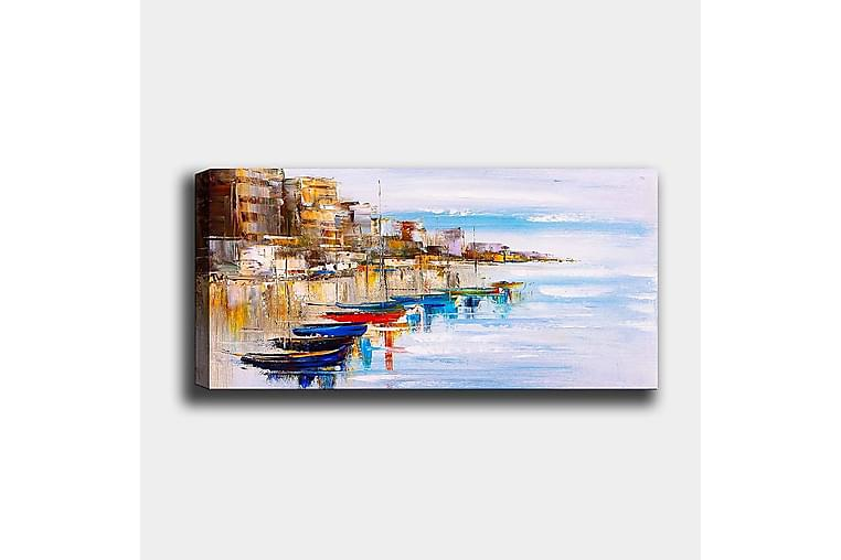 Canvastavla YTY Nautical & Beach Flerfärgad - 120x50 cm - Heminredning - Väggdekor - Canvastavlor