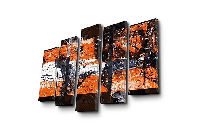 Decorative Canvas Painting (5 Pieces) - Heminredning - Väggdekor - Canvastavlor