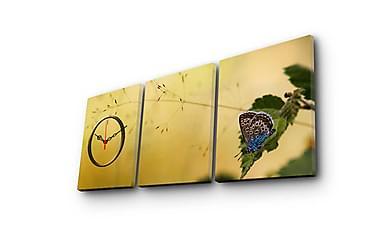 Decorative Canvas Wall Clock (3 Pieces)