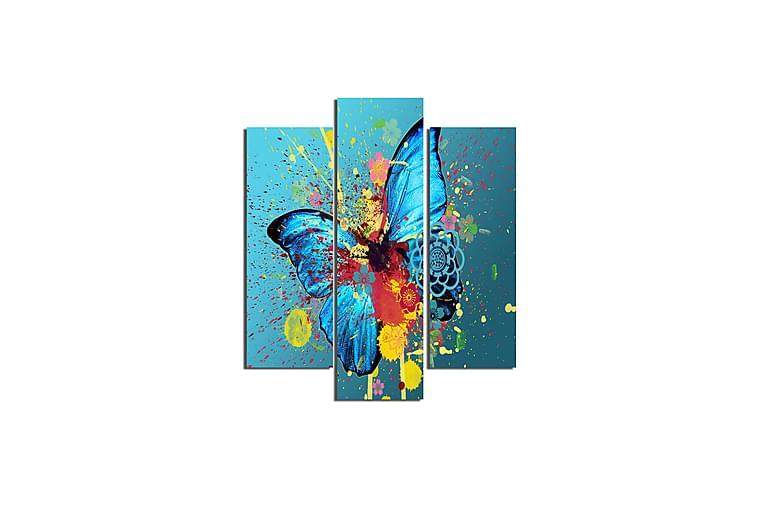 Fjärilar Ramverk - Homemania - Heminredning - Väggdekor - Canvastavlor