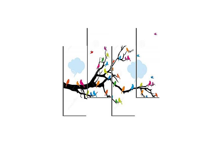 Träd Ramverk - Homemania - Heminredning - Väggdekor - Canvastavlor