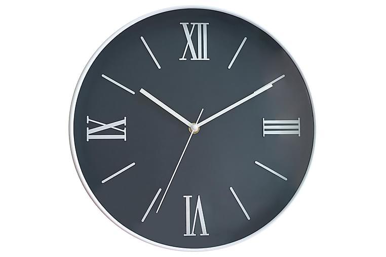 klocka Mörkblå - 30,6x30,6cm - Heminredning - Väggdekor - Klockor & väggklockor