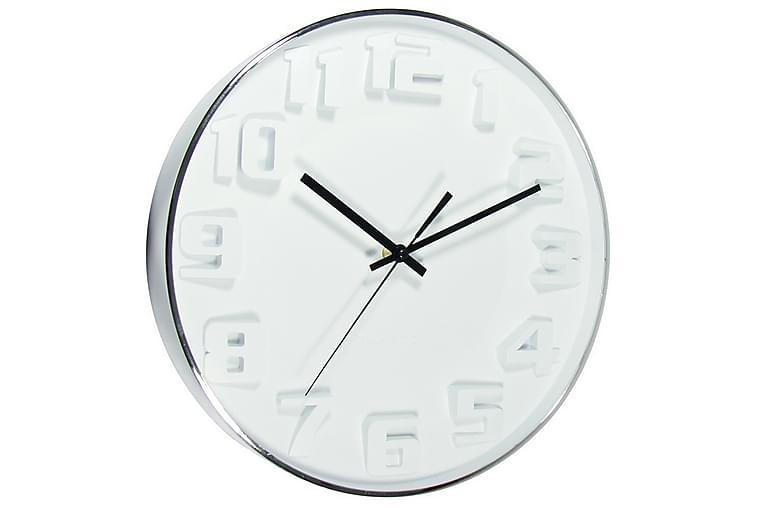 klocka White - 33,5x33,5 cm - Heminredning - Väggdekor - Klockor & väggklockor