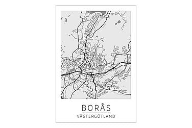 Borås Stadskarta Poster