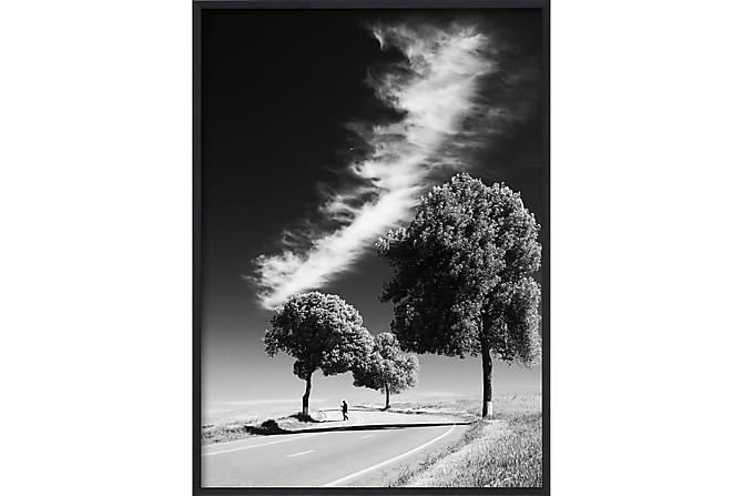 Desert Road Poster B&W - 50x70cm - Heminredning - Väggdekor - Posters