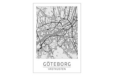 Göteborg Stadskarta Poster