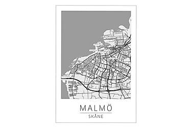 Malmö Stadskarta Poster