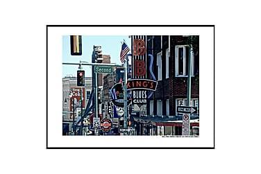 Poster Beale Street Memphis
