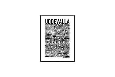 Poster Uddevalla 70x100 cm