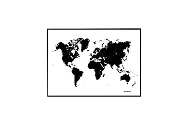Poster VärldsKarta 70x100