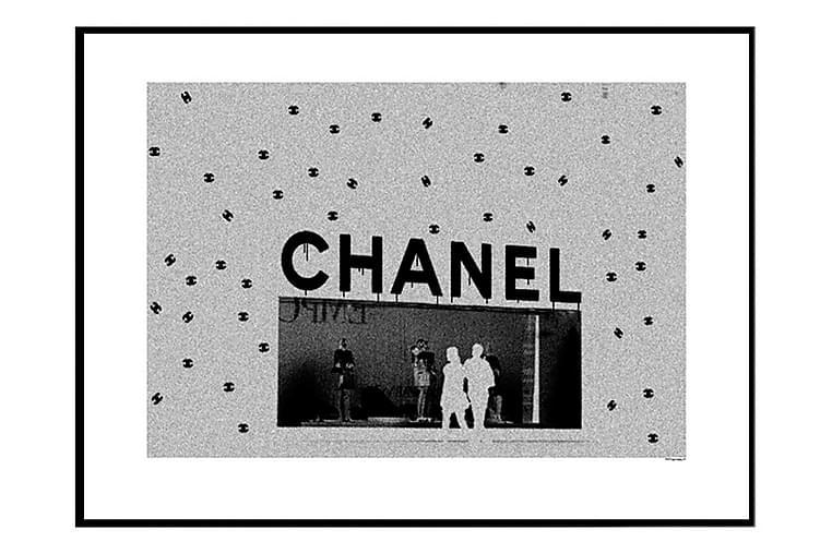 Poster Chanel Store - Finns i flera storlekar - Heminredning - Väggdekor - Posters