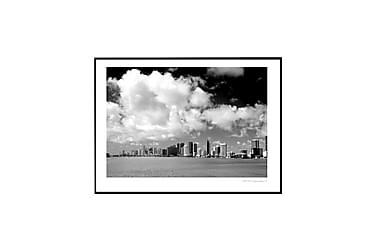 Poster Miami skyline