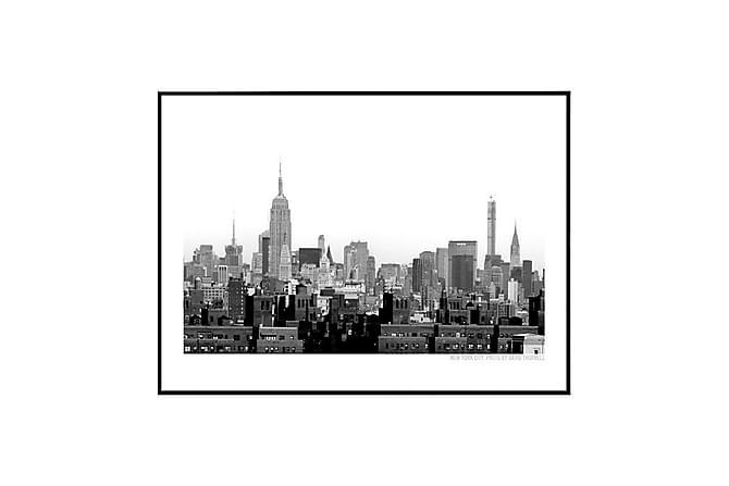 Poster NYC Scrapers - Finns i flera storlekar - Heminredning - Väggdekor - Posters