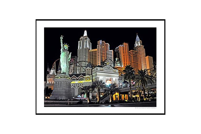 Poster NYNY Las Vegas - Finns i flera storlekar - Heminredning - Väggdekor - Posters