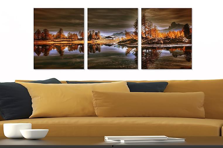 Tavla City 3-pack Flerfärgad - 20x50 cm - Heminredning - Väggdekor - Posters