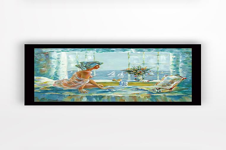 Tavla med Ram Flerfärgad - 41x56 cm - Heminredning - Väggdekor - Ramar