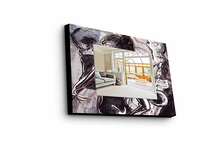 Armavir Dekorspegel 50x50 cm Young - Plexiglas/Flerfärgad - Heminredning - Väggdekor - Speglar