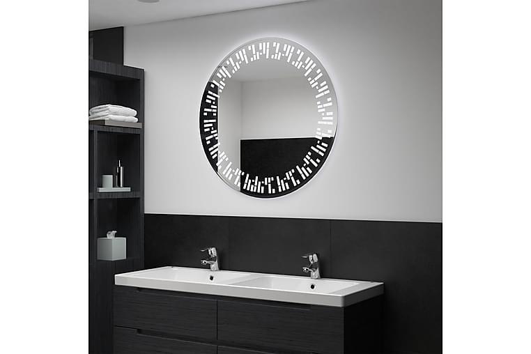 Badrumsspegel LED 80 cm - Silver - Heminredning - Väggdekor - Speglar
