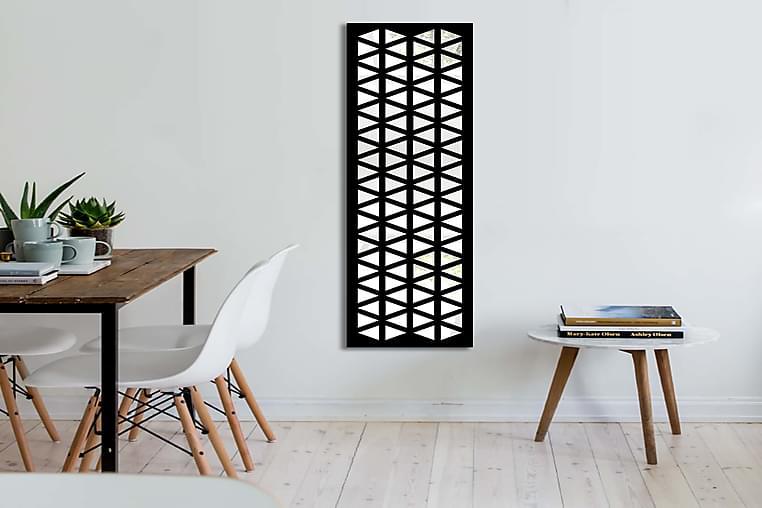 Kharuta Dekorspegel 108x28 cm Scandinavian - Spegelglas/Vinyl/Flerfärgad - Heminredning - Väggdekor - Speglar