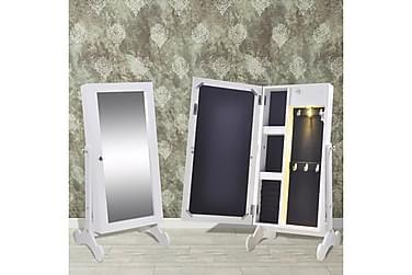 Steffanie Smyckesskåp med Spegel LED