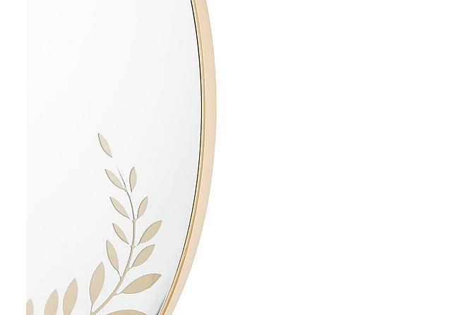 Zavalla Spegel 59x83 cm - Guld - Heminredning - Väggdekor - Speglar